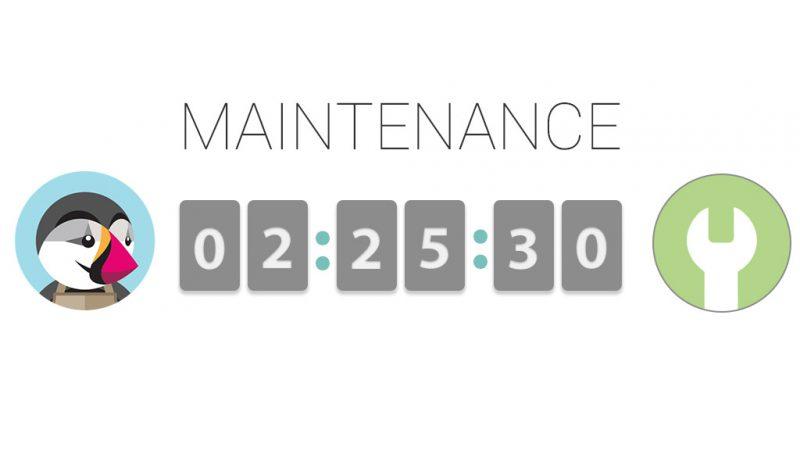 Module de personnalisation de page de maintenance pour Prestashop