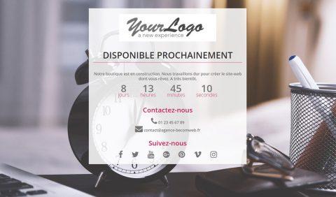 Découvrir comment personnaliser la page de maintenance de Prestashop