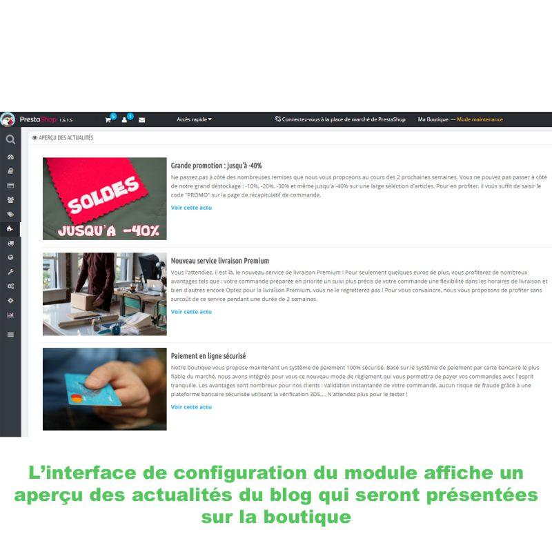 Afficher très facilement les articles de votre blog Wordpress au sein de votre e-boutique Prestashop
