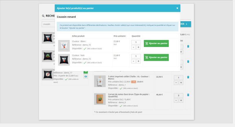 Le formulaire de commande rapide pour Prestashop est plus simple et plus pratique qu'un bon de commandeet