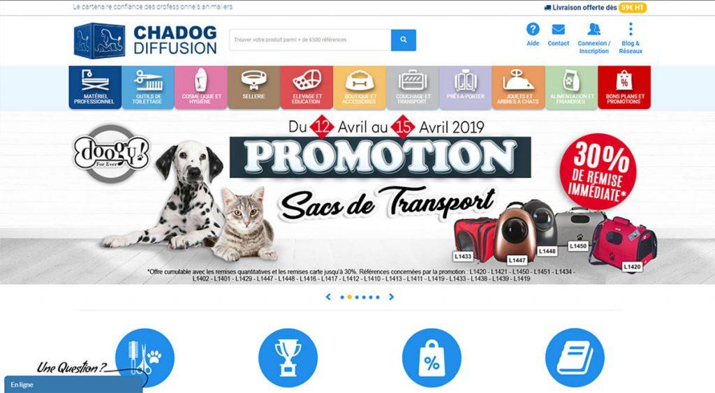 Site Prestashop B2B 100% responsive optimisé pour smartphone et tablette