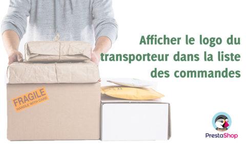 Prestashop - Afficher le logo du transporteur dans la liste des commandes